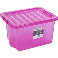 Wham Box with lid 24 litres pink 12322 - Storage Box