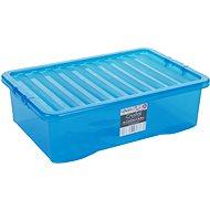 Wham Box s víkem 32l modrá 10863