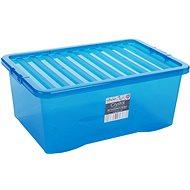 Wham Box with lid blue 45 l 10873 - Storage Box