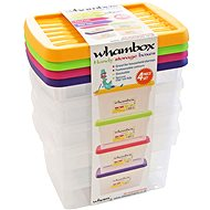 Wham Box with lid 1.5l 4pcs assort 13104