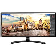 "34"" LG 34UM68 Ultrawide - LED monitor"