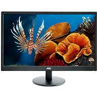 """24"""" AOC E2470Swhe - LED monitor"""