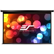 """ELITE SCREENS, awning with electric motor, 110 """"(16: 9) Black"""