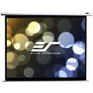 """ELITE SCREENS, Drop Down Projection Screen With an Electric Motor 110"""" (16:9) - Projection Screen"""