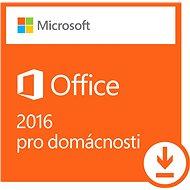 Microsoft Office 2016 pre domácnosti