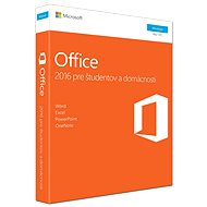 Microsoft Office 2016 Home and Student - Elektronická licence