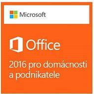 Microsoft Office 2016 pro domácnosti a podnikatele - Elektronická licence