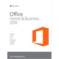 Microsoft Office 2016 Home and Business - Elektronická licence