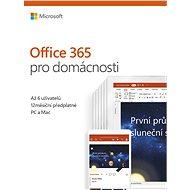Microsoft Office 365 pro domácnosti - Elektronická licence