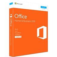 Microsoft Office 2016 Home and Business ENG - Kancelářský balík