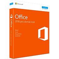 Microsoft Office 2016 pre domácnosti CZ