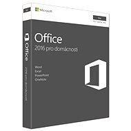 Microsoft Office 2016 pro domácnosti pro MAC CZ - 1 uživatel/ 1 počítač