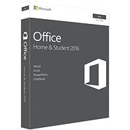 Microsoft Office Home and Student 2016 ENG pre MAC - 1 užívateľ / 1 počítač