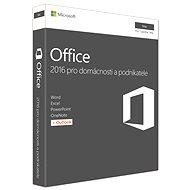 Microsoft Office Home and Business 2016 CZ pre MAC - 1 používateľ/1 počítač