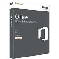 Microsoft Office Home and Business 2016 ENG pre MAC - 1 užívateľ / 1 počítač