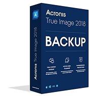 Acronis True Image 2018 CZ Upgrade pro 1 PC - Zálohovací software
