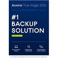 Acronis True Image 2016 CZ pro 3 PC (elektronická licence)