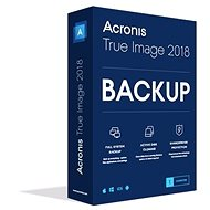 Acronis True Image 2018 CZ pro 1 PC (elektronická licence)
