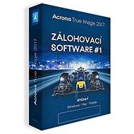 Acronis True Image 2017 CZ pro 5 PC (elektronická licence) - Zálohovací software