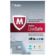 McAfee LiveSafe na 12 měsíců (všechny jazykové verze)