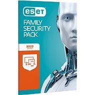 ESET Family Security Pack pro 3 počítače a 3 mobilní zařízení na 12 měsíců - Bezpečnostní software