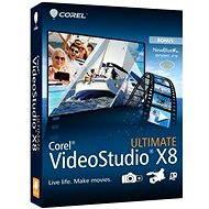 Corel VideoStudio Pro X8 ULTIMATE Mini-Box ML