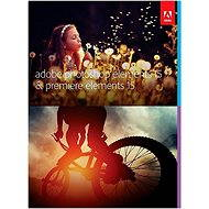 Adobe Photoshop Elements 15 + Premiere Elements 15 CZ