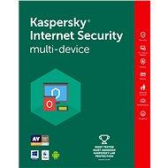 Kaspersky Internet Security multi-device 2016 pre 2 zariadenia na 12 mesiacov