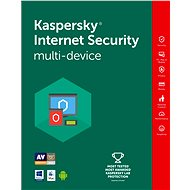 Kaspersky Internet Security multi-device 2016/2017 na 4 zariadenia na 12 mesiacov