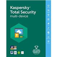 Kaspersky Total Security multi-device 2016/2017 pro 3 zařízení na 12 měsíců