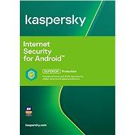 Kaspersky Internet Security pro Android pro 1 mobil nebo tablet na 12 měsíců (elektronická licence)