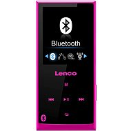 Lenco XEMIO 760 mit 8 Gigabyte Bluetooth Rosa - FLAC Player