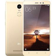 Xiaomi Redmi Note 3 32GB zlatý - Mobilní telefon