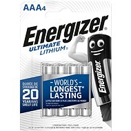 Energizer Ultimate Lithium AAA/4 - Baterie