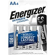 Energizer Ultimate Lithium AA/4 - Batterie