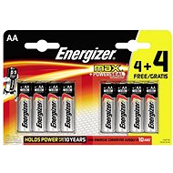 Energizer Max Tužka AA 4+4ks