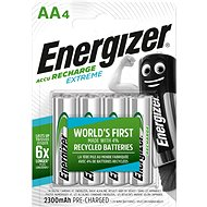 Extreme Energizer NiMH HR6 AA 2300mAh / 4 pieces