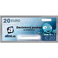 Darčekový poukaz Alza.sk na nákup tovaru v hodnote 20 €