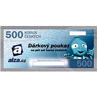 Elektronický dárkový poukaz Alza.cz na nákup zboží v hodnotě 500 Kč - Poukaz