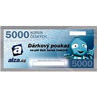 Elektronický dárkový poukaz Alza.cz na nákup zboží v hodnotě 5000 Kč - Poukaz