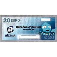 Elektronický darčekový poukaz Alza.sk na nákup tovaru v hodnote 20 EUR