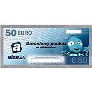 Elektronický darčekový poukaz Alza.sk na nákup tovaru v hodnote 50 EUR