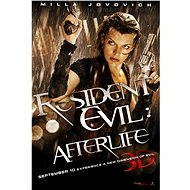3D Resident Evil: Afterlife, Tschechische Dubbing - Blue-ray Film