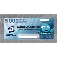 Dárkový poukaz Alza.cz na nákup zboží v hodnotě 5000 Kč
