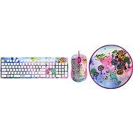 Yenkee Fantasy Girls Set - Tastatur/Maus-Set