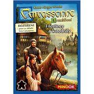 Carcassonne – Hostince a katedrály 1. rozšíření - Rozšíření společenské hry