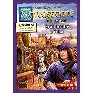 Carcassonne – Král, hrabě a řeka - 6. rozšíření - Rozšíření společenské hry