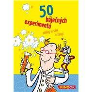 50 báječných experimentů - Společenská hra