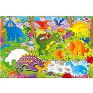 GALT Velké podlahové puzzle – dinosauři - Puzzle