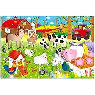GALT - Large floor puzzle - on the farm